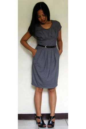 Bayo dress - GoJane shoes - sm department store belt
