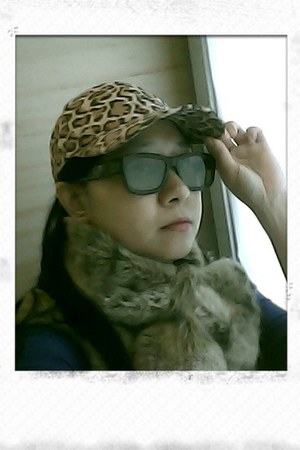 leopard print zaful hat