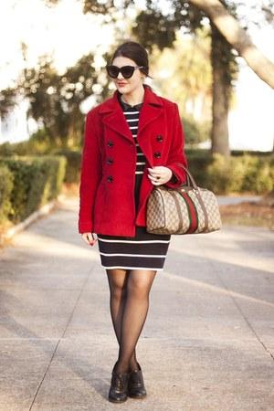 black striped sugarhill boutique dress