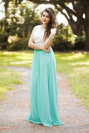 aquamarine Chi Chi dress
