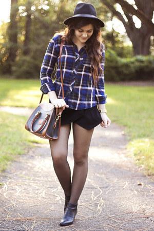 black Persun Mall shorts