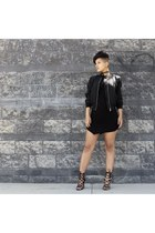 bomber jacket Akira jacket - tshirt dress She The Collection dress