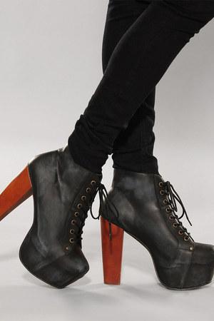 black lita black Jeffrey Campbell heels