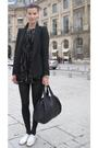 Black-jacket-black-leggings-black-shirt-black-purse-white-shoes