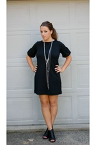 Jcrew dress - Steven by Steve Madden shoes - me necklace