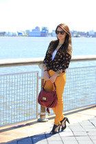 Forever 21 blouse - Marc by Marc Jacobs bag - Zara pants