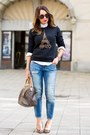 Sky-blue-zara-jeans-ivory-topshop-shirt-mustard-dune-bag
