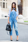 Sky-blue-denim-dungarees-zara-jeans-light-blue-mango-mango-shirt