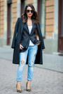 Black-zara-coat-sky-blue-zara-jeans-black-yves-saint-laurent-bag
