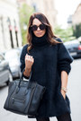 Black-h-m-sweater-black-knee-high-boots-h-m-boots-black-celine-bag