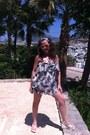 Dark-khaki-afrodithe-dress-tan-roberto-cavalli-sunglasses