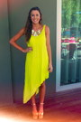 Lime-green-asymmetrical-dress-dark-khaki-witners-wedges