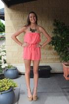 hot pink supre bodysuit
