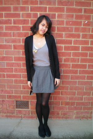 Temt - supre - vintage from Ebay skirt - Target tights - rubi shoes