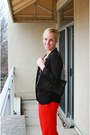 Black-aritzia-blazer-black-silk-tank-dress-jcrew-top-red-the-limited-pants