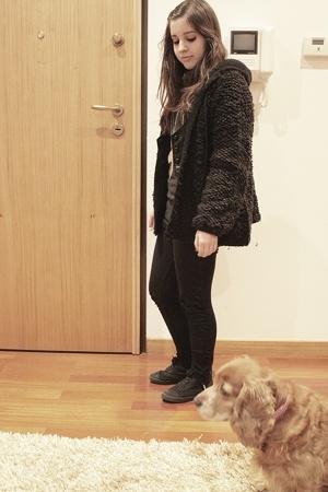 Zara coat - H&M shoes