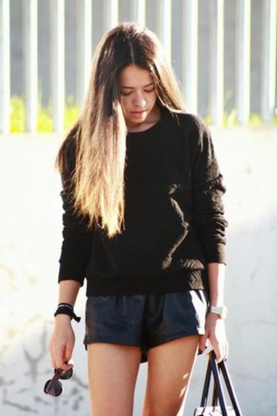 casio watch - Zara shoes - Celine bag - Ebay shorts - pull&bear sunglasses
