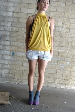 shirt - Club Monaco shorts - socks - shoes