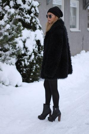 jacket - heels