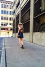 Blue-denim-dress