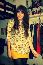 Primark blouse - H&M skirt