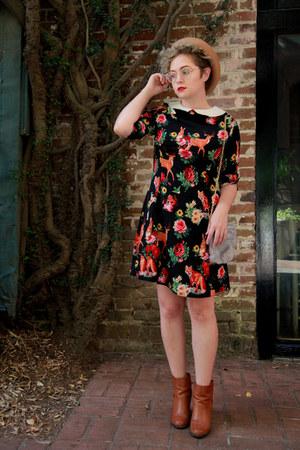 retro print Dandy Boutique dress