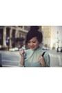Black-zara-bag-ivory-united-colors-of-benetton-skirt-aquamarine-zara-blouse