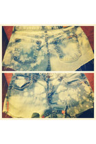 acid wash Levis shorts