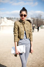Olive-green-unknown-jacket-white-unknown-boots