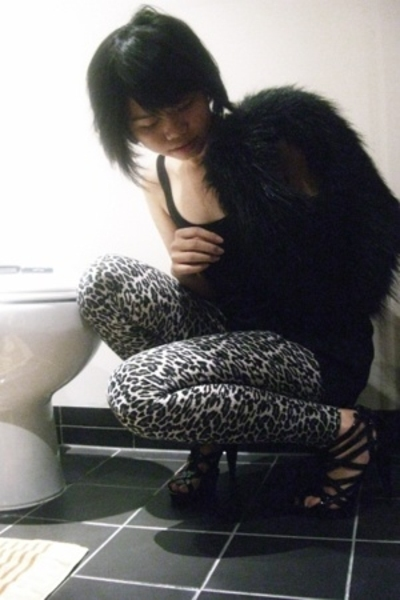 agentninetynine top - Dotti vest - agentninetynine leggings - Sportsgirl shoes