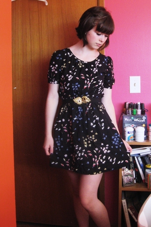 Kimchi&Blue dress - Urban Outfitters belt - Target shoes