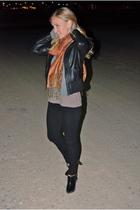 black Forever 21 jacket - black Forever 21 pants - black Isaac Mizrahi for Targe