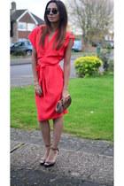 stud Newlook shoes - kimono asos dress