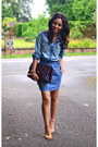 Denim-levis-shirt-denim-asos-skirt