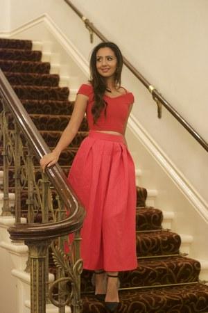crop new look top - a-line Closet London skirt