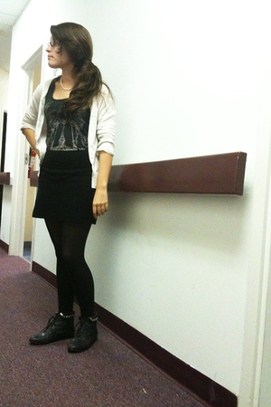Urban Outfitters top - Forever 21 boots