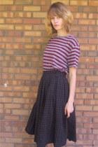 crimson Target shirt - crimson doc martens boots - dark gray Forever 21 dress