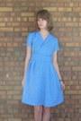 Sky-blue-handmade-dress-heather-gray-dsw-heels