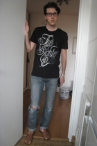 asos shoes - Levis jeans - Zara t-shirt