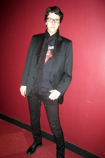 Hugo Boss vest - vintage t-shirt - Dr Martens boots - april 77 jeans - H&M scarf