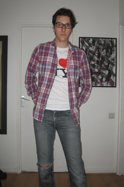 Topman shirt - Levis jeans - t-shirt - Dr Martens boots