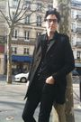 Black-april-77-jeans-the-kooples-coat