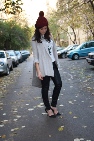 H&M hat - Zara leggings