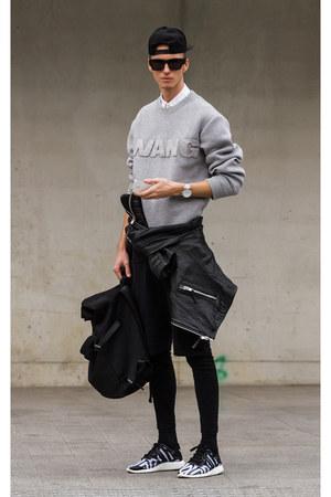 black wang Alexander Wang x H&M sunglasses