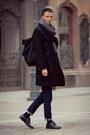 Black-h-m-shoes-black-h-m-coat-navy-vintage-jeans-black-bag