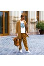 Bronze-h-m-coat-white-kenzo-sweater-bronze-h-m-pants-white-adidas-sneakers