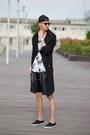 Black-slipon-f-f-shorts-black-leather-shorts-guylook-shorts
