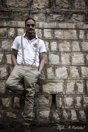 suspenders Allen Solly boots