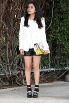 Alexander Wang heels - Theyskens Theory jacket - Roger Vivier bag