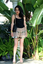 thakoon skirt - Chanel bag - Isabel Marant heels - Giorgio Armani top